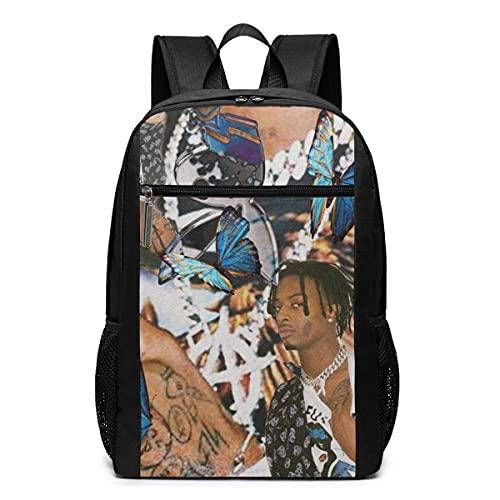 Yuanmeiju mochila Playboi Carti 17 Inch Backpack Laptop Adjustable Shoulder Busin Travel School