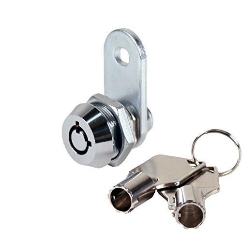 FJM Security 2400AXS-KA Tubular Cam Lock with 3/8