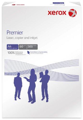Xerox 003R91713 Premier Kopier-, Druckerpapier DIN A4, 60 g/m², 500 Blatt 1 Pack, weiß