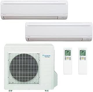 Daikin 2 Zones 18,000 BTU 220V/18 SEER/High Efficient / Saving Mini Split Inverter Air Conditioner/Heat Pump