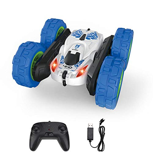 【Regalo de Abril】 Kids Sand Toys RC Stunt Car, Vehículos eléctricos para...