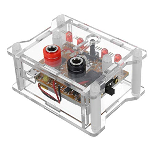 SDENSHI AD584 módulo de referencia de voltaje de 4 canales 2.5 V ~ 10 V de alta precisión con caja