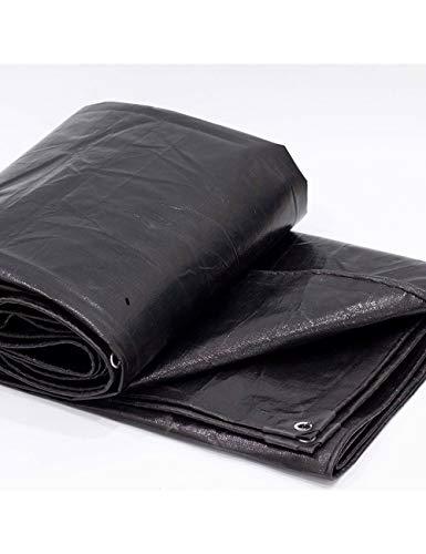 WANPB Bâche de Protection en Plastique de Bâche de Protection Solaire de Bâche de Protection Solaire de Poncho Noir (Taille : 3x4m)