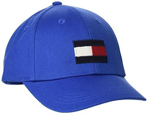 Tommy Hilfiger Unisex Big Flag Baseball Cap, Blau (Lapis Lazuli C5d), Medium
