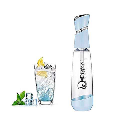Seifenblasen-Wasserautomat für Zuhause, Getränke, Saft, Bar, Bier, Soda Maker Seltzer Flasche, tragbar, 1 l Sprudelwassermaschine für Zuhause, Party