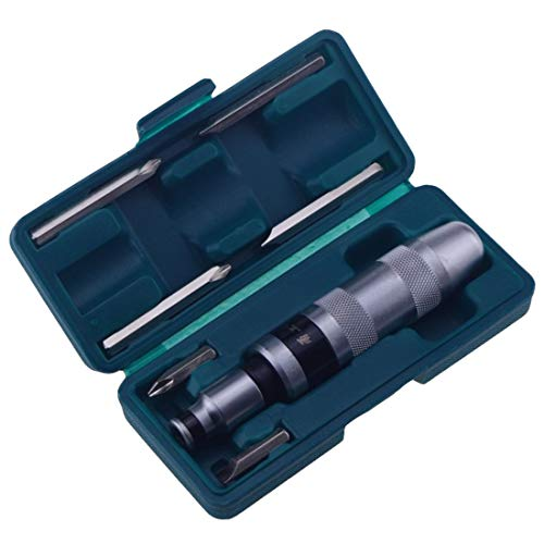 Screwdriver 7pcs Multi-purpose Heavy Duty Impact Screwdriver Set Driver Chisel Bits Tools Socket Kit With Case Flat & Occus