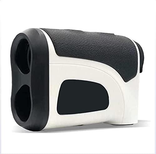 Golf RangeFinder 800M, Aumento 6X, binoculares láser, con Pendiente Encendido/Apagado, Bloqueo de Bandera con vibración, 800 Metros/Yardas telémetro, Resistente al Agua