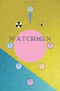 Watchmen: College Ruled Line Journal Handy Writing Notebook