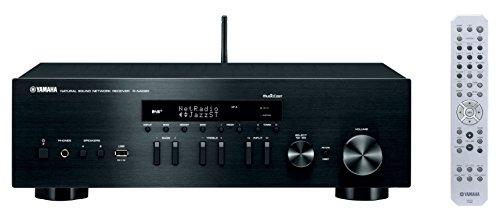 Yamaha MusicCast RN402D Netzwerk-Empfänger mit Airplay, Bluetooth und DAB, Schwarz