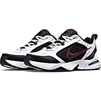 Nike Air Monarch IV, Zapatillas de Gimnasia para Hombre, Blanco (White/Black/Varsity Red 101), 43 EU