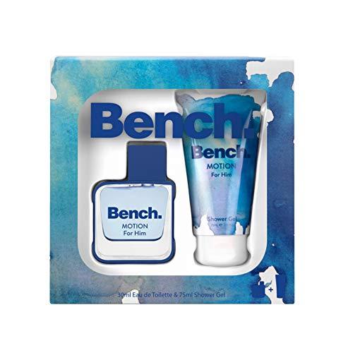 Bench Motion for Him Set, Eau de Toilette 30 ml + Shower Gel 75 ml, 105 ml