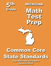 Michigan 5th Grade Math Test Prep: Common Core Learning Standards