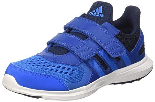 Adidas Hyperfast 2.0 CF K - Zapatillas de running, Unisex infantil, Azul / Negro, 30