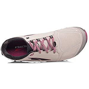 ALTRA Women's AFW1953G Superior 4 Trail Running Shoe, Gray/Raspberry - 9 B (M) US