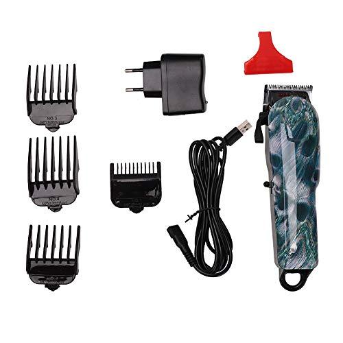 Atyhao Haarschneidemaschine, elektrisch, wiederaufladbar, modisch, Trimmer Cutting, Profi-Haarschneider, für Herren, Erwachsene, Kinder Ue Stecker