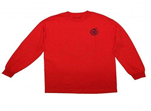 Emerica Skateboard Langarm T-Shirt Wild Ride Red, Grösse:L