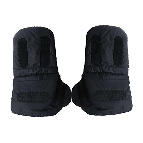 een paar Kids Baby Pram Kinderwagen Accessoire Hand Muff warm bont fleece Handschoenen