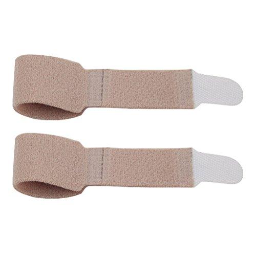 Supvox Finger-Klammer-Schiene-Stützzehenschiene wickelt Separator für gebrochenen verletzten Finger ein