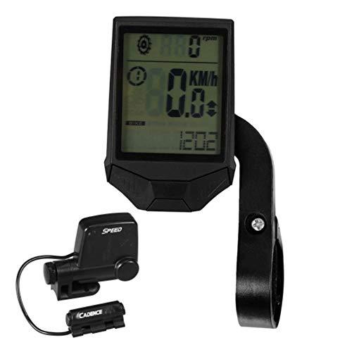 NEHARO Cuentakilómetros para Bicicleta Ciclismo inalámbrica del Ordenador Bici de la computadora...