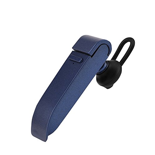 Wireless Multilingual Voice Translator Smart Language Translator Device Bluetooth Translation Headset Smart 16 Language Translator Earbuds for Business, Travel, etc(Blue)