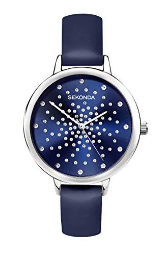 Sekonda Editions Dames Horloge met Blauwe Steen Set Wijzerplaat 2944