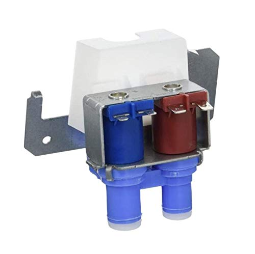 Reliable WR57X10032 Dual Solenoid Inlet Water Valve. Replacement Part Fits for GE, Hotpoint Refrigerator and Replaces 880070, AH304374, EA304374, PS304374, WR57X10040, WR57X10064, B004H3XWPG
