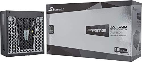 Seasonic PRIME TX-1000, 1000W 80+ Titanium, Full Modular, Fan Control in...