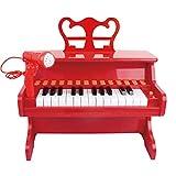 QuRRong Teclado de Piano para Niños Piano de Juguete de Juguete de Juguete de Juguete de Piano bebé para niños con Desarrollo de micrófono Juguetes de educación temprana para Regalo de Cumpleaños