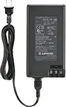 Aiphone Corporation PS-1225UL 12V DC, 25A Power Supply for LEF Series, MP-S Series, TD-Series, or New-5, Fire-Retardant, A...