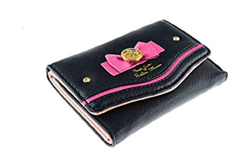 Ruotong Sailor Moon 20th Style Anniversary Cute Anime Pu Leather Billfold Wallet Purse New ver. (black)
