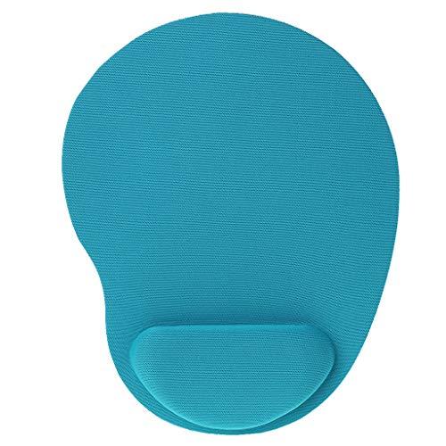 Viesky Computer Games Creatieve Effen Kleur Nieuwe Muis Pad Milieuvriendelijk EVA Bracers muismat Blauw