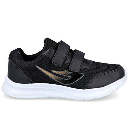 L&R SHOES A101 Zapatillas Deportivas Hombre - Sintético para: Hombre Color: Negro Talla: 43