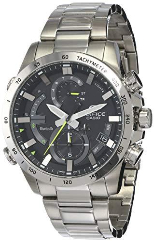 Casio Edifice Bluetooth Chronograph Black Dial Men's Watch - EQB-900D-1ADR(EX422)