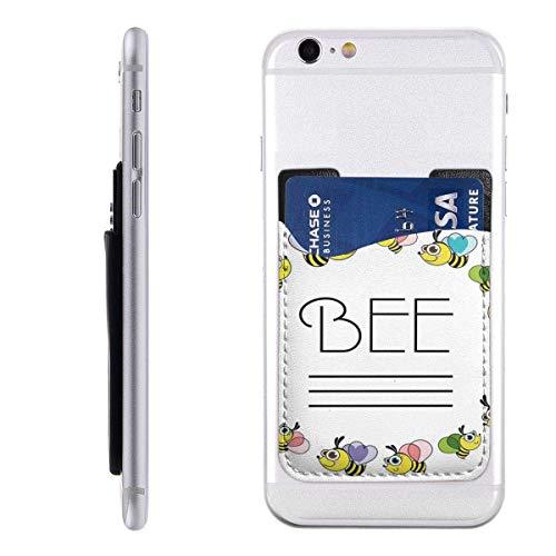 Inner-shop Mobiele kaart Portemonnee Portemonnee Pocket ID Credit Card Mouwlandbouw Honing Bijen Dier Apiarist Bijenkorf Bijenkorf