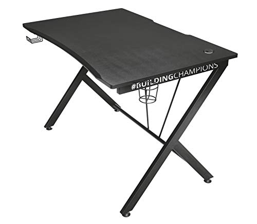 Trust Gaming GXT 711 Dominus Gaming Desk, 115 x 73.5 x 76 cm - Black