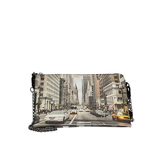 YNOT YES-303F0 POCHETTE Donna STAMPA NEW YORK TU