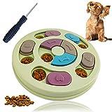 犬 おもちゃ 知育玩具 ペット食器 早食い防止皿 ペット用品 スロウフィーダーボウル ノーズワーク フード ボウル 小型犬 中型犬 IQ UP ストレス解消 グリーン