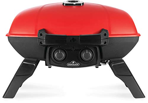Napoleon TQ285-RD-1-A TravelQ 285 Portable Gas Grill, Red