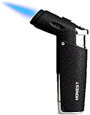 QIANGUANG® Jet Vlam Aansteker Blow Torch Butaan Hervulbaar Winddicht voor Sigaret Sigaar BBQ Camping Outdoor Gift