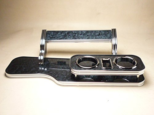数量限定 30系プリウス フロントテーブル ブラックウッド 携帯ホルダー中央 ブラックフルメッキ