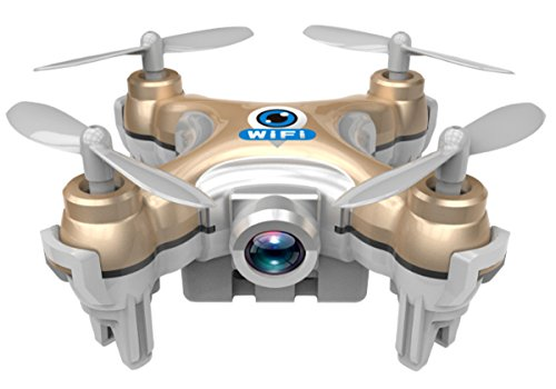 bangcool Mini Drone, CX-10W RC Quadcopter 4CH 6 Axis Gyro Quadcopter with WiFi 0.3mp Camera