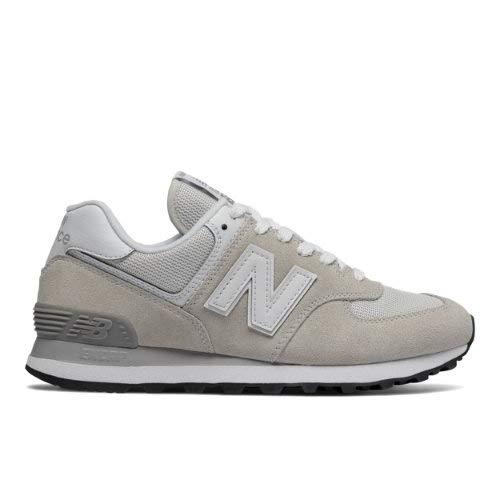 New Balance Sneaker Damen WL574EW Hellgrau, Schuhgröße:36.5