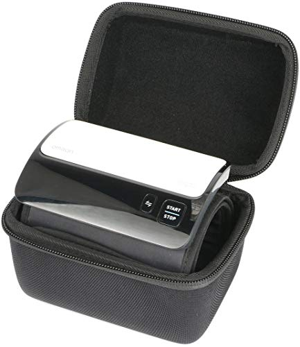 Khanka Hard Travel Case Replacement for Omron Evolv Bluetooth Wireless Upper Arm Blood Pressure Monitor- Compatible with Alexa