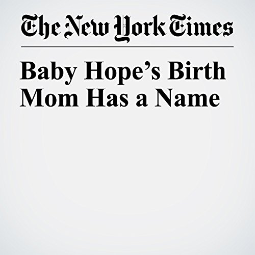 Baby Hope's Birth Mom Has a Name copertina