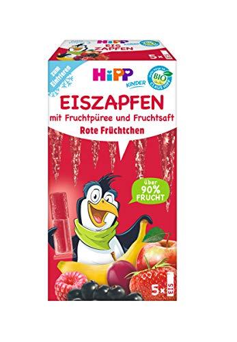 Hipp Kinder Dessert, Eis-Zapfen Rote Früchtchen, 25 x 30 ml - Bio