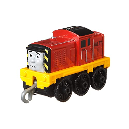 Thomas & Friends GDJ49 Trackmaster Salty Push Along Engine, multicolor , color/modelo surtido