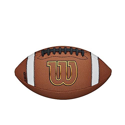 Wilson GST Composite Balón de fútbol - WTF1784, Marrón