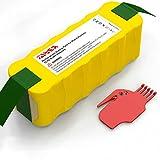 YABER Akku für iRobot Roomba, NI-MH 4500mAh Saugroboter Ersatzbatterie für Staubsauger Serie 500 600 700 800 R3, Akku Roomba mit Zubehör 531 555 581 595 620 650 770 780 871 870 880