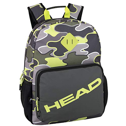 Athletic Yellow Camo Laptop Backpack for Women 17 Inch Waterproof Travel Backpack (Yellow Camo)