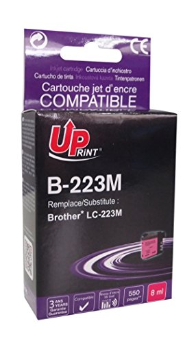 Tintenpatrone kompatibel mit Brother LC-223 – Magenta UPrint B-223M
